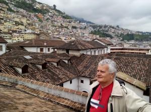 Quito, veduta città dal tetto di S.Diego -ecuador 3 174